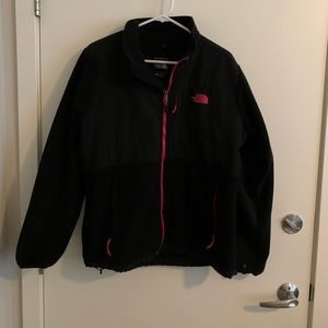 Black North Face with Pink Accents
